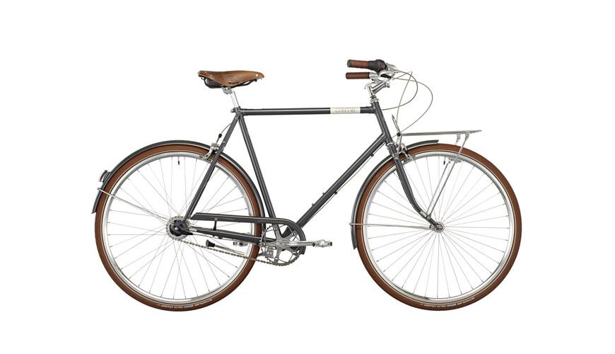 Creme Caferacer Doppio Citybike 7-speed grå